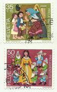 1985 - Svizzera 1233/34 Favole, - Fiabe, Racconti Popolari & Leggende