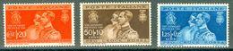 Italy 1930 Nozze Principe Umberto Con Maria Josè MNH** - Lot. RE269-271 - 1900-44 Victor Emmanuel III