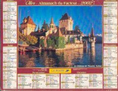 FRANCE) – Almanach Des P.T.T. 2002 - Calendriers