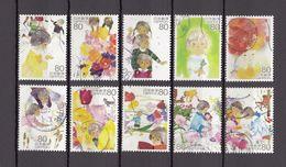 Japan 2013 - Seasons Memories In My Heart 2, Used Stamps, Michelnr. 6324-33 - Gebruikt