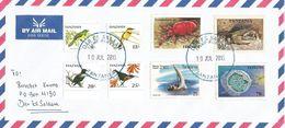 Tanzania 2015 Dar Es Salaam Bird Eagle Medusa Dhow Shrimp Cover - Tanzania (1964-...)