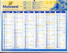 (FRANCE) Ville De SAVIGNY SUR ORGE -calendrier Des éboueurs 1995 - Grand Format : 2001-...