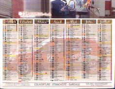 (FRANCE) - Mutouest -calendrier 2004 - Grand Format : 2001-...