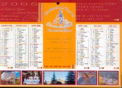 (FRANCE) – VERNET-LES-BAINS - Etablissement Thermal  -calendrier 2005 - Calendriers