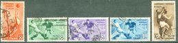 Italy 1934 Campionato Mondiale Di Calcio - Lot. RE359-363 - 1900-44 Victor Emmanuel III