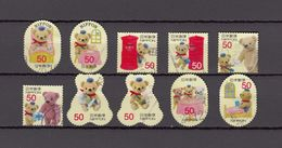 Japan 2013 - Greetings Autumn 50 Yen, Used Stamps, Michelnr. 6524-33 - Gebruikt
