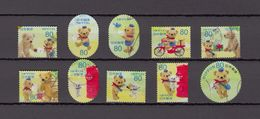 Japan 2013 - Greetings Autumn 80 Yen, Used Stamps, Michelnr. 6534-43 - Gebruikt