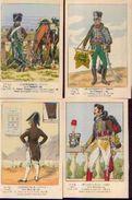 « Les Uniformes Du 1er Empire – Le 2e Hussards » -série 140 - Ed. Treuttel Et Wurtz, Strasbourg (1924) - Uniformes