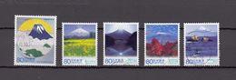 Japan 2013 - Local Autonomy Law Shizuoka, Used Stamps, Michelnr. 6583-87 - Gebruikt