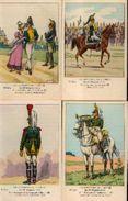 « Les Uniformes Du 1er Empire – Le 19e Dragons » -série 90 - Ed. Treuttel Et Wurtz, Strasbourg Vers 1914) - Uniformes