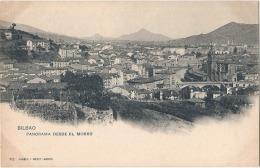 BILBAO Panorama Desde El Moro  Precurseur Neuf/unused  - TTB - Vizcaya (Bilbao)
