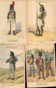 « Les Uniformes Du 1er Empire – Les Dragons à Pied» -série 63 - Ed. Treuttel Et Wurtz, Strasbourg Vers 1914) - Uniformes