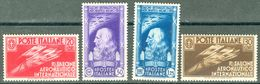 Italy 1935 Salone Aeronautico Internazionale MNH** - Lot. RE384-387 - 1900-44 Victor Emmanuel III