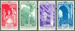 Italy 1935 Pro Opera Previdenza MNH** - Lot. RE380-383 - 1900-44 Victor Emmanuel III