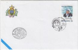 PGL AT696 - SAN MARINO SASSONE N°1488 MADRE TERESA FDC - FDC