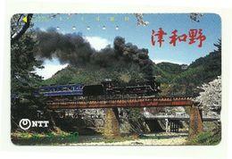 Giappone - Tessera Telefonica Da 50 Units T326 - NTT - Treni
