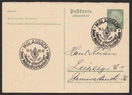 """Propaganda- Sst """"Gebiets- Führerlager"""", M. Gladbach, 16.6.39, P229IA, O - Deutschland"""
