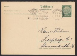 "Propaganda- Werbestempel ""NS-  Fliegerkorps"", Innsbruck, 9.2.39, P229IA, O - Deutschland"