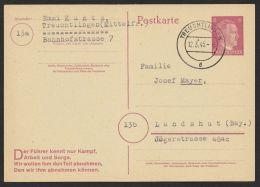 """""""Treuchtlingen"""", 12.3.45, Kein Text, P314II, O - Deutschland"""