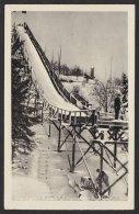 Altenberg, Schanze, Fotokarte, 1958 Gelaufen - Altenberg