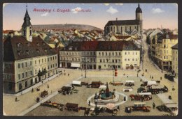 """Annaberg"", Marktplatz, 1916 Als Feldpost - Annaberg-Buchholz"