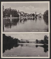 Calbe, 2 Fotokarten Ende 40er Jahre - Deutschland