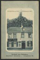 """Bad Godesberg"" Dek. Karte Mit Rahmen ""Gasthaus Zum Godesberg"", 1913 Gelaufen - Bonn"