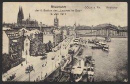 """""""Köln"""", Rheinfahrt """"Lazarett Im Dau"""", 3.7.17 - Köln"""