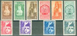 Italy 1937 Mostra Colonie Estive MNH** - Lot. RE406-415 - 1900-44 Victor Emmanuel III