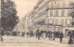 PARIS-75017- BOULVARD DES BATIGNOLLES , PLACE CLICHY - Arrondissement: 17