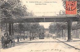 PARIS-75017- AVENUE DE CLICHY, LES DEUX PONTS - Arrondissement: 17