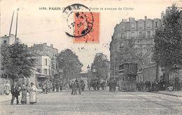 PARIS-75017- PORTE ET  AVENUE DE CLICHY - Arrondissement: 17