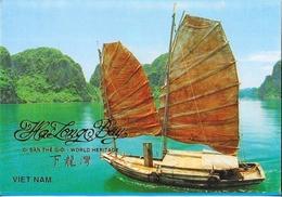 Viet-Nam - Halong Bay (baie D'Ha Long) - The World Heritage - Pochette De 10 Cartes Neuves - Viêt-Nam