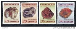 GEORGIA 2003  Minerals Set Of 4  MNH / ** - Georgia