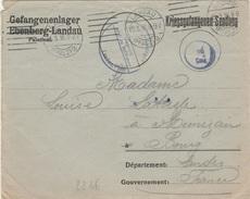 WW1 - Lettre D Un Prisonnier De Guerre Du Camp De LANDAU - L 2286 - Marcophilie (Lettres)