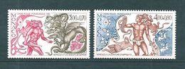 Monaco Timbres De 1985 N°1494/95  Neufs ** - Neufs