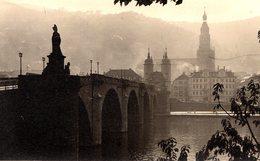 Carte Photo Originale Prague Le Pont Charles - Lieux