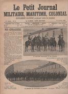 PETIT JOURNAL MILITAIRE MARITIME COLONIAL 10 1 1904 - CUIRASSIERS - ALCOOL CASERNE - NOGENT SUR MARNE - TOULON - ALGERIE - Journaux - Quotidiens