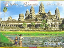 Kingdom Of Cambodia (Cambodge) - Siem Reap, Series 11 - Angkor Wat, Ta Prohm Temple - Pochette De 10 Cartes Neuves - Cambodia