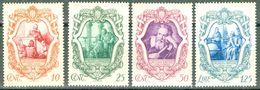 Italy 1942 Centenario Morte Galileo Galilei MNH** - Lot. RE462-465 - 1900-44 Victor Emmanuel III