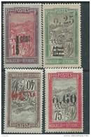 Madagascar N° 125 + 128 / 30 X  Partie De Série : Les 4 Valeurs Trace De Charnière, Sinon TB - Madagascar (1889-1960)