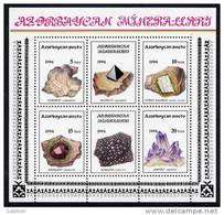 AZERBAIJAN 1994 Minerals Block. MNH / **. - Mineralien