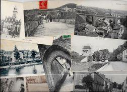 Lot 899 De 10 CPA CPSM Dordogne Département 24 Déstockage Pour Revendeurs Ou Collectionneurs - Cartes Postales