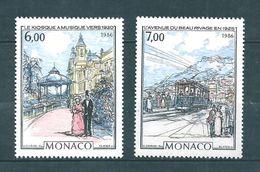 Monaco Timbres De 1986  Neufs**    N°1543/44 - Neufs