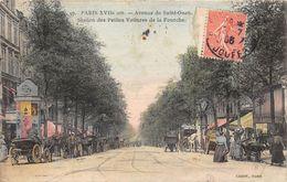 PARIS-75017- AVENUE DE SAINT-OUEN, STATION DES PETITES VOITURES DE LA FOURCHE - Arrondissement: 17
