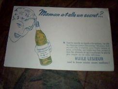 Buvard Huile Lessieur Rend La Bonne Cuisine Encore Meilleure - Buvards, Protège-cahiers Illustrés