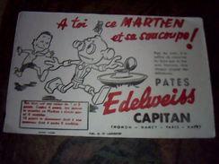 Buvard Pate Edeelweiss Capitan - Blotters