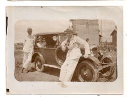 PHOTO 1928 VOITURE Peugeot   CPA1117 - Automobile