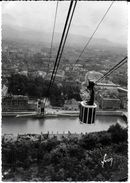GRENOBLE ISERE 38  TELEFERIQUE DE LA BASTILLE EDIT. YVON ECRITE CIRCULEE 1942 - Grenoble