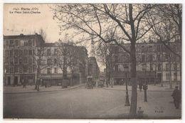 75 - PARIS 15 - La Place Saint-Charles - Fleury FF 1543 - Tramway - Paris (15)